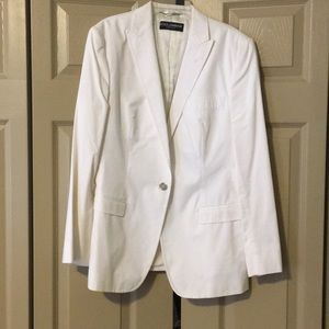 Dolce & Gabbana White Blazer Size 46